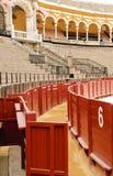 Praça de touros de Sevilha - porta número 6 Imagem de Stock