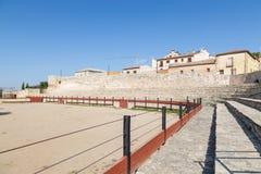 Praça de touros em Hita, Guadalajara, Espanha Imagem de Stock