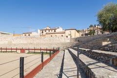 Praça de touros em Hita, Guadalajara, Espanha Imagem de Stock Royalty Free