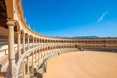 Praça de touros em Ronda, Spain fotos de stock