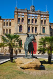 Praça de touros no EL Puerto de Santa Maria Imagens de Stock Royalty Free