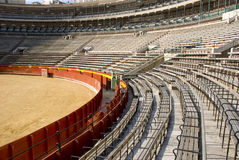 Praça de touros vazia Fotos de Stock Royalty Free