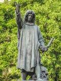 Praça Del Campidoglio Staircase Statue imagens de stock royalty free
