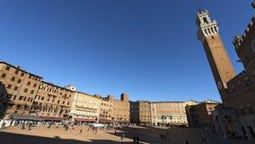 Praça del Campo - Siena Tuscany Italy Fotografia de Stock