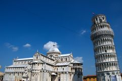 Praça del Domo, Pisa Fotografia de Stock