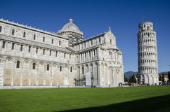 Praça del Domo, Pisa Foto de Stock Royalty Free