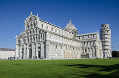 Praça del Domo, Pisa Foto de Stock