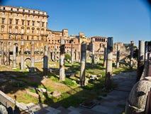 Praça Di Novana, Roma, Itália Foto de Stock Royalty Free