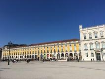 Praça do Comércio Royalty Free Stock Photo