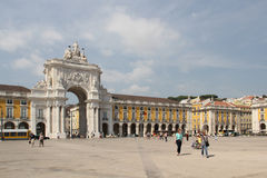 Praça do Comércio, Lisbon Royalty Free Stock Photos
