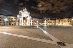 Praça do Comércio royalty free stock photography