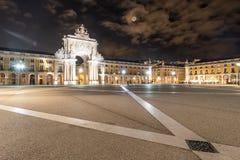 Praça gör Comércio royaltyfri fotografi