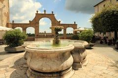 Praça italiana Imagens de Stock Royalty Free