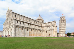 Praça Miracoli em Pisa Foto de Stock Royalty Free