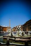 Praça Navona Imagem de Stock