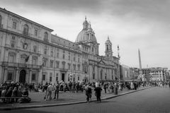 Praça Navona Imagens de Stock Royalty Free