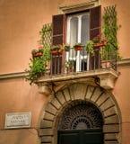 Praça Navona, Roma Italy foto de stock
