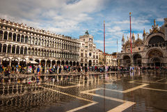 Praça San Marco Foto de Stock
