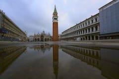 Praça San Marco na manhã imagens de stock