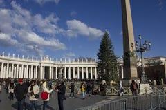 Praça San Pietro em Roma Foto de Stock