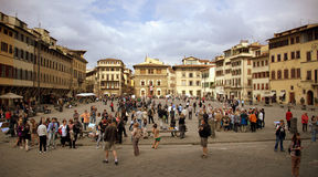 Praça Santa Croce Imagens de Stock Royalty Free
