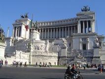 Praça Venezia de Roma Fotos de Stock Royalty Free