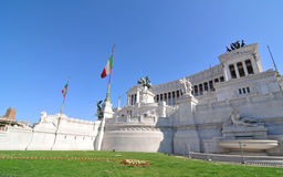 Praça Venezia, Roma Fotografia de Stock Royalty Free