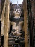 Pra Ajana Buddha av Sukhothai Royaltyfri Fotografi
