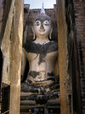Pra Ajana Buddha di Sukhothai Fotografia Stock Libera da Diritti