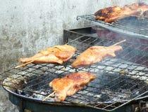 Prażaka kurczak zdjęcie royalty free