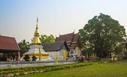 Tempel i Khon Kaen, Thailand Royaltyfri Foto
