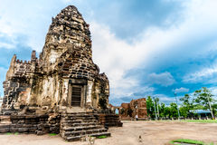Pra bombarda Sam Yod, Lopburi Tailandia Immagini Stock