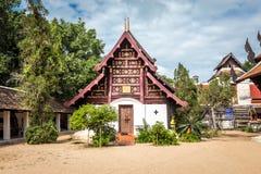Pra das Lampang Luang, der berühmte alte buddhistische Tempel Stockfotos