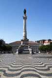 pra DOM IV Λισσαβώνα Pedro Πορτογαλία Στοκ Εικόνα