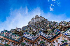 Pra esquintent Wat Arun Image libre de droits