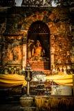 Pra Jao Tan Jai. Buddha statue (Pra Jao Tan Jai) in Jedyod Temple, chiang Mai, Thailand Stock Image