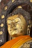 Pra Kantar bhudda wizerunek przy środkową sala Maha Sarakham Obraz Royalty Free