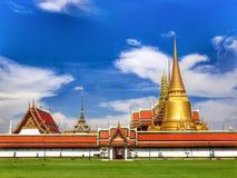 Pra Keaw tempel Arkivfoto