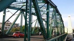 Pra Pok Klao Bridge over Chaophaya River. Phra Pok Klao Bridge over Chaophaya River Royalty Free Stock Photography