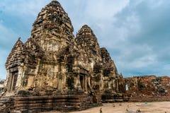 Pra Prang Sam Yod, Lopburi Ταϊλάνδη Στοκ Εικόνες