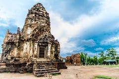 Pra Prang Sam Yod, Lopburi Tailândia Imagens de Stock