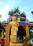 Pra Siwalee Buddha Golden Statue Royalty Free Stock Photos