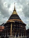 Pra tad lampang louang pagoda, Thailand Stock Photo