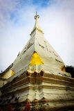 Pra Tat Sri Song Luck Historic stupa Loei Thailand. Temple building Stock Photography
