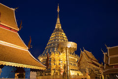 Pra thad doi suthep pagoda Stock Photo