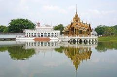 Pra Thinang Aisawan Thiphaya艺术亭子 免版税库存照片