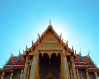 Pra Wat kaew, μεγάλο παλάτι Στοκ Εικόνες