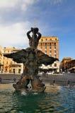 Praça Barberini, Roma Fotos de Stock