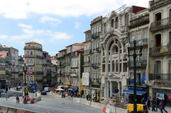 Praça de Almeida Garrett, Porto, Portugal Royalty Free Stock Photography