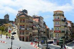Praça de Almeida Garrett, Porto, Portugal Stock Photo